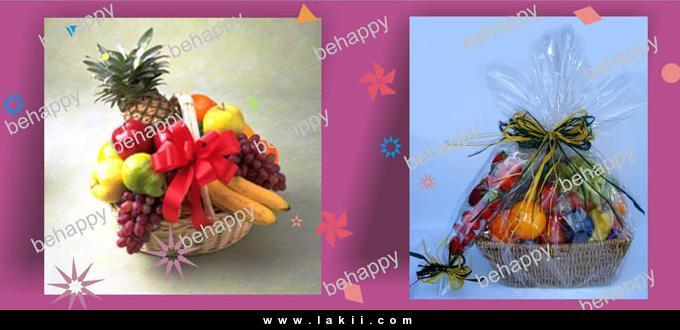 لتزيين السفرة او المطبخ سلة فاكهة وورد من صنع ايديكي Behappy_11A1ftQI