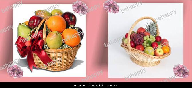 لتزيين السفرة او المطبخ سلة فاكهة وورد من صنع ايديكي Behappy_1WtyhEv