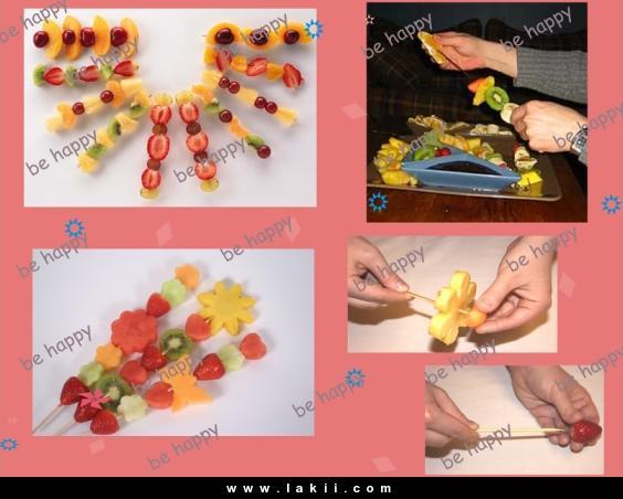 لتزيين السفرة او المطبخ سلة فاكهة وورد من صنع ايديكي Behappy_2fHV8ve