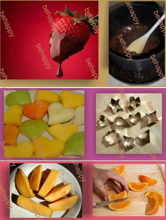 لتزيين السفرة او المطبخ سلة فاكهة وورد من صنع ايديكي Behappy_7vbL7Zm