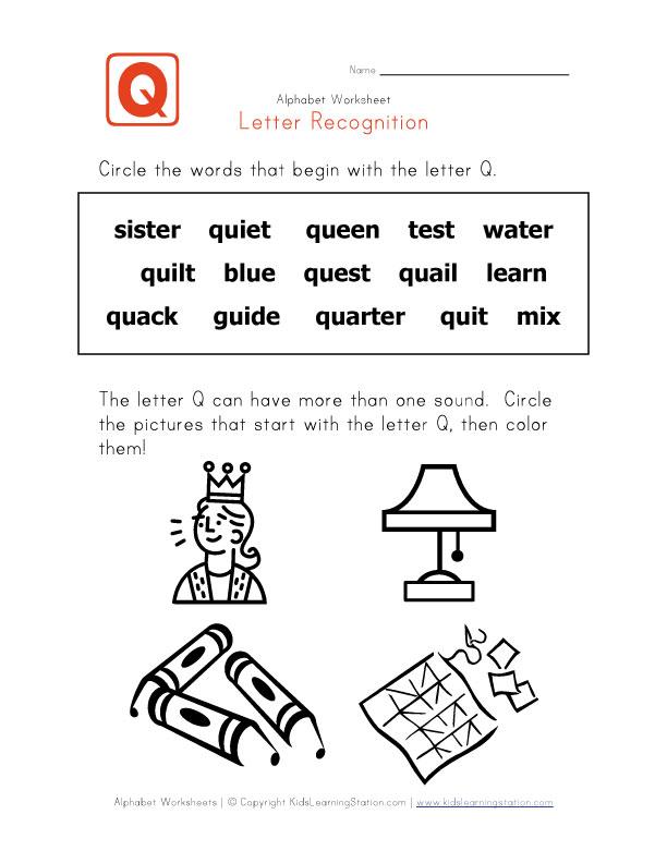 كلمات انجليزية تبدأ بحرف Q للاطفال