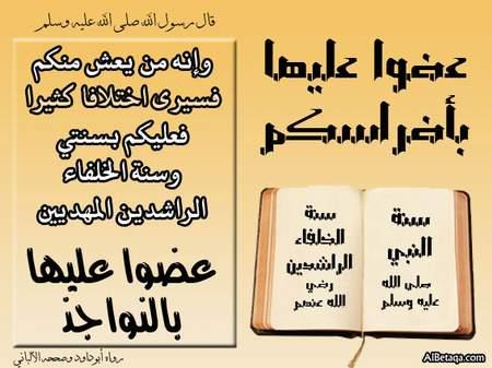 ۩۞ فضل التمسك بالسنة وأهميته في زمن الفتن والشدائد ۞۩ saudi_naby-ta3a0009.