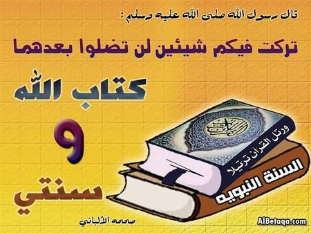 ۩۞ فضل التمسك بالسنة وأهميته في زمن الفتن والشدائد ۞۩ saudi_naby-ta3a0020.