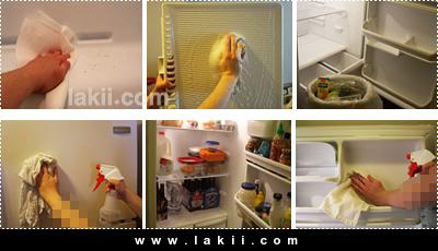 العناية بالثلاجة وخطوات تنظيفها