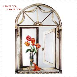 °• نقاشات ممتعة حول المرآيا ) 4 ( إطارات خشبية و رسومات° • AmSalah_P14261556.pn