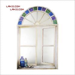°• نقاشات ممتعة حول المرآيا ) 4 ( إطارات خشبية و رسومات° • AmSalah_P14261557.pn