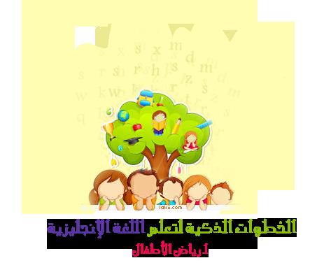 تعليم الأطفال اللغة الانجليزية