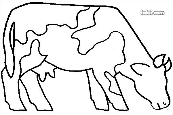 - Vache dessin facile ...