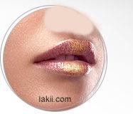 موسوعة ماكياج من a الى z beauty_gold_lips.jpg