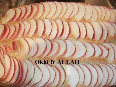 كيكة التفاح الألمانيه اللذييييييييييذه