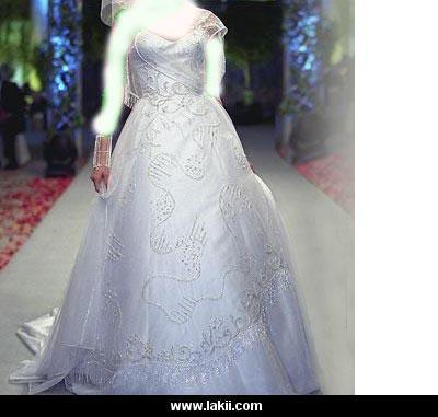 موديلات فساتين الزواجات الاعراس 2012   موضة فساتين 2012